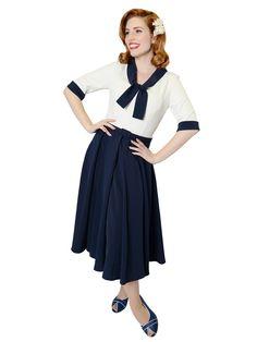 Lucinda Plain Swing Dress 0