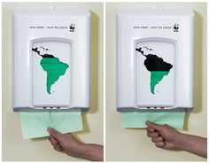 WWF - Street Marketing #green #sustainable