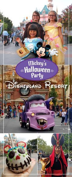 Mickeys Halloween Party 2017 is sold out! Get information about the 2018 party! Disneyland Resort is the place to be for Halloween time! #Disneyland #MickeysHalloweenParty #AD