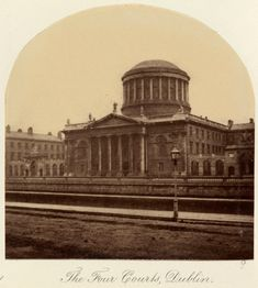The Four Courts, Dublin c.1880 after an original of c.1860