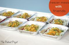 Freezer Meals with Friends
