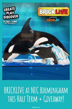 BRICKLIVE at NEC Birmingham this Half Term + Giveaway!