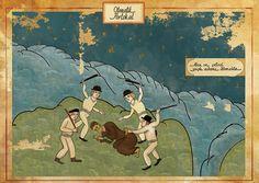 Les films cultes deviennent des enluminures persanes
