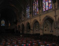 All Saints' Chapel (interior), University of the South