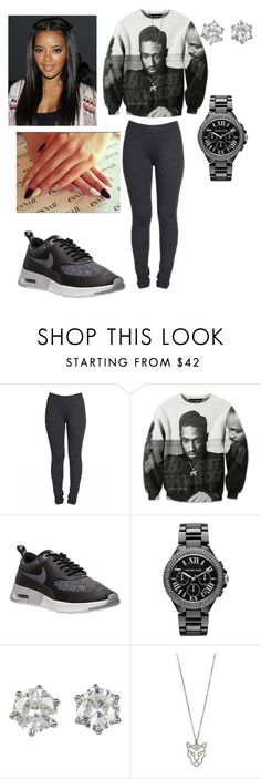 """Juice"" by youngcocaa ❤ liked on Polyvore featuring NIKE, Golden Child, Michael Kors and Juicy Couture"