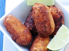 Croquetas de Yuca (Cassava Croquettes) have not had yuca in forever! Need to try these asap! My Colombian Recipes, Colombian Food, Yuca Recipes, Cassava Recipe, Columbian Recipes, Comida Boricua, Puerto Rico Food, Florida Food, Dominican Food