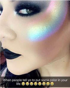 12 Insane Highlighter Makeup Trends You Probably Don't Have The Guts To Try