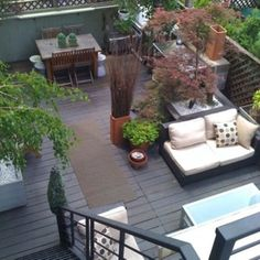 53 Amazing terraces and rooftops - Creating outdoor zones - photo only.