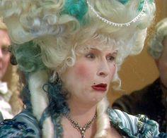 Jennifer Saunders is the impossible Comtesse de Vache in 'Let Them Eat Cake' BBC 1999