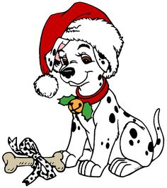 non copyrighted drawings 101 dalmatians christmas clip art rh pinterest com dalmatian puppy clipart dalmatian puppy clipart
