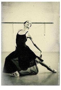 "Diana Vishneva rehearsing ""Cinderella"" at the Mariinsky. Photo by Alex Gouliaev, June 2013."