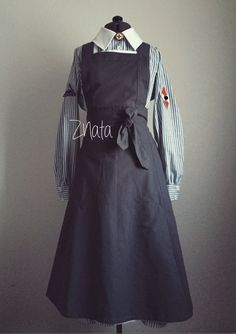 Как много страниц история прошлого еще для нас готовит... ;)  #ZNata #DRK #BDM #apron #stripe #dress #ww2 #wk2