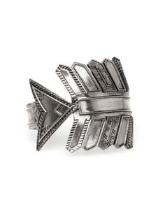 House of Harlow 1960 Antiqued Accented Arrow Cuff, I would die!