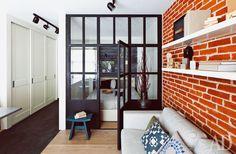 Мини-лофт в Москве, дизайн-бюро Enjoy Home, автор Надя Зотова #кухня