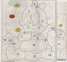 Little girl applique part 2 Applique Templates, Applique Patterns, Applique Quilts, Applique Designs, Embroidery Applique, Patch Quilt, Quilt Blocks, Clipart Baby, Quilting Projects