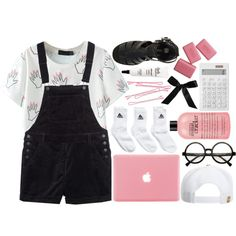 Daphne//My First Simple Set by pinkcupcake14 on Polyvore featuring polyvore, art and Pinklooks