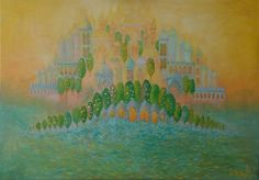 Buy `Dvaraka`, Oil painting by Sandra Gotautaite on Artfinder. Discover thousands of other original paintings, prints, sculptures and photography from independent artists.