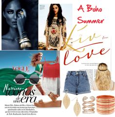 """""""A Boho Summer"""" by edith-rose ❤ liked on Polyvore"""