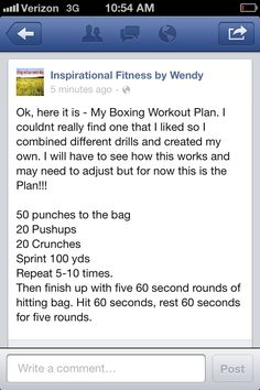 Boxing Workout Plan Boxing Workout Plan, Boxing Circuit, Tae Bo Workout, Insanity Workout, Workout Plan For Women, At Home Workout Plan, Workout Humor, At Home Workouts, Body Rock