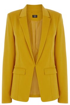 Add some sharp tailoring to your wardrobe with this great trans-seasonal jacket. The rolled up the sleeve (so you dont have to) cinched waist and just-right length give this versatile jacket some serious statement appeal.