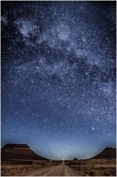 Karoo night - Colesberg - South Africa