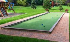 Bocce Court by Gasper