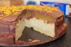 Giant 'Jaffa Cake' Cake