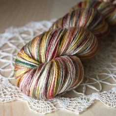 Beautiful colorway ♥ Phydeaux Designs - Vignoble / Hand Dyed Yarn
