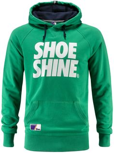 Felpa uomo Shoeshine con stampa a pigmento ed interno cappuccio in contrasto.    Prezzo: 62.00€    SHOP ONLINE: http://www.athletesworld.it/felpa-shoeshine-shoeshine-9197068