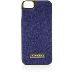 TOPSHOP **Navy Pony Iphone 5 Case by Skinnydip ($20) ❤ liked on Polyvore featuring accessories, tech accessories, blue and topshop