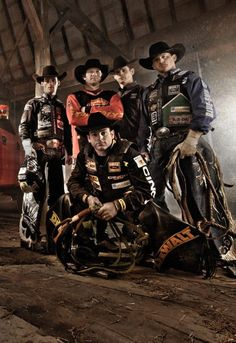 PBR bull riders