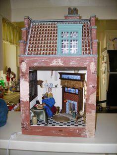 Vermeer house miniature from Bluette Meloney class  2008