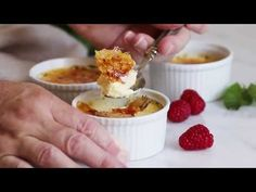 (9) How To Make Creme Brulee // Kevin Is Cooking - YouTube