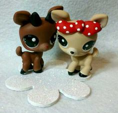 Rudolph and Clarice Littlest Pet Shop