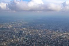"Earl & Lady Gray's Travelogue — ""London from Above"" While returning from our trip..."