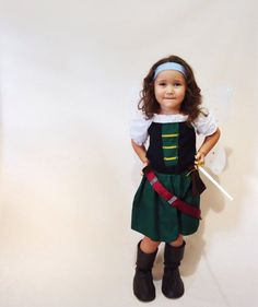 Zarina the Pirate Fairy Style 2 Fairy Costume by LoopsyBaby
