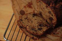 Nigel Slaters Chocolate Muscovado banana cake via the Wednesday chef