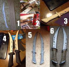 elven bard short sword worbla - Google Search