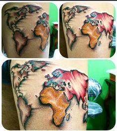 Un giro nel mondo della fantasia.. A bordo di una mongolfiera..il giro del mondo in 84 giorni.. Tattoo Artist : il Corra Go Corra Go!! Tatuaggi traditional http://www.subliminaltattoo.it/prodotto.aspx?pid=08-TATTOO&cid=18 #subliminaltattoofamily #corradocarnevali #alicenelpaesedellemeraviglie #mongolfiera #tree #mappa #tattoo #tattoolife #maletattooartist #tatuaggio #oldschooltattoo #traditional #tattoo