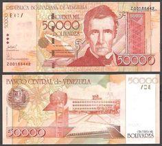 Billetes de Venezuela de los años 2000