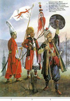 Ottoman Warriors in the Balkans Turkish Military, Turkish Army, Turkey History, Warrior Paint, Soldier Costume, Turkish Soldiers, Ottoman Turks, Armadura Medieval, Ottoman Empire