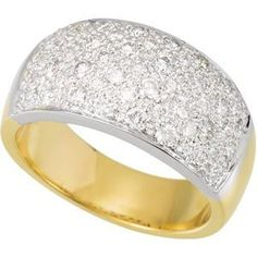 Genuine IceCarats Designer Jewelry Gift 14K White/Yellow Gold Two Tone Diamond Ring. Two Tone Diamond Ring In 14K White/Yellow Gold Size 6  http://electmejewellery.com/jewelry/rings/genuine-icecarats-designer-jewelry-gift-14k-whiteyellow-gold-two-tone-diamond-ring-two-tone-diamond-ring-in-14k-whiteyellow-gold-size-6-ca/