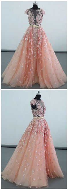 Prom Dress Princess, luxury long prom dresses,peach tulle prom party dress,unique ball geon prom dress with appliques Shop ball gown prom dresses and gowns and become a princess on prom night. prom ball gowns in every size, from juniors to plus size. Dresses Short, Long Prom Gowns, A Line Prom Dresses, Tulle Prom Dress, Cheap Prom Dresses, Prom Party Dresses, Homecoming Dresses, Bridesmaid Dresses, Dress Lace
