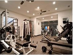 I would love an in home gym!