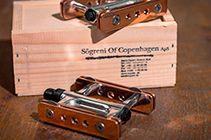 Sogreni hand made Copper Pedals from Copenhagen