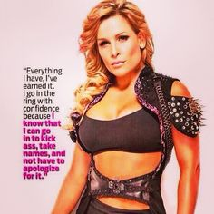 Nattie quote: inspiration Wrestling Divas, Women's Wrestling, Wwe Quotes, Wwe Female Wrestlers, Wwe Girls, Wwe Tna, Wwe Womens, Professional Wrestling, Gorgeous Women