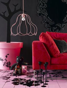 cool floor and lamp shade