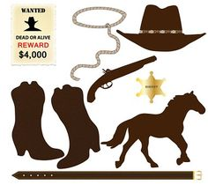 Free Image on Pixabay - Cowboy, Icons, Hat, Lasso, Rope Free Clipart Images, Free Images, Rodeo Party, Rodeo Birthday, Cowboy Art, Cowboy Western, Cowboy Boots, Western Babies, Cowboy Pictures