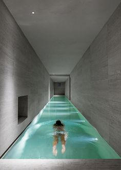 excellent indoor pool.