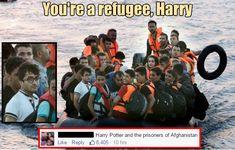 Harry Potter der Flüchtling LocoPengu - Why so serious? witze meme lustiges zitate humor funny bilder